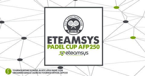 Tournoi intime eTeamsys - RTCL Padel Cup AFP250