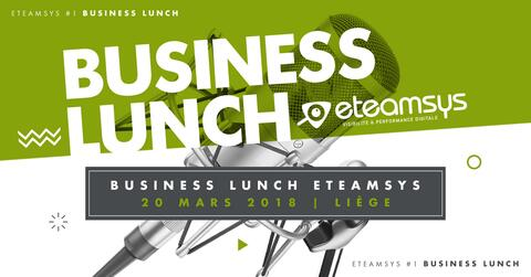 Business Lunch eTeamsys Liège