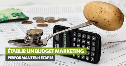 Établir un budget marketing performant en 4 étapes